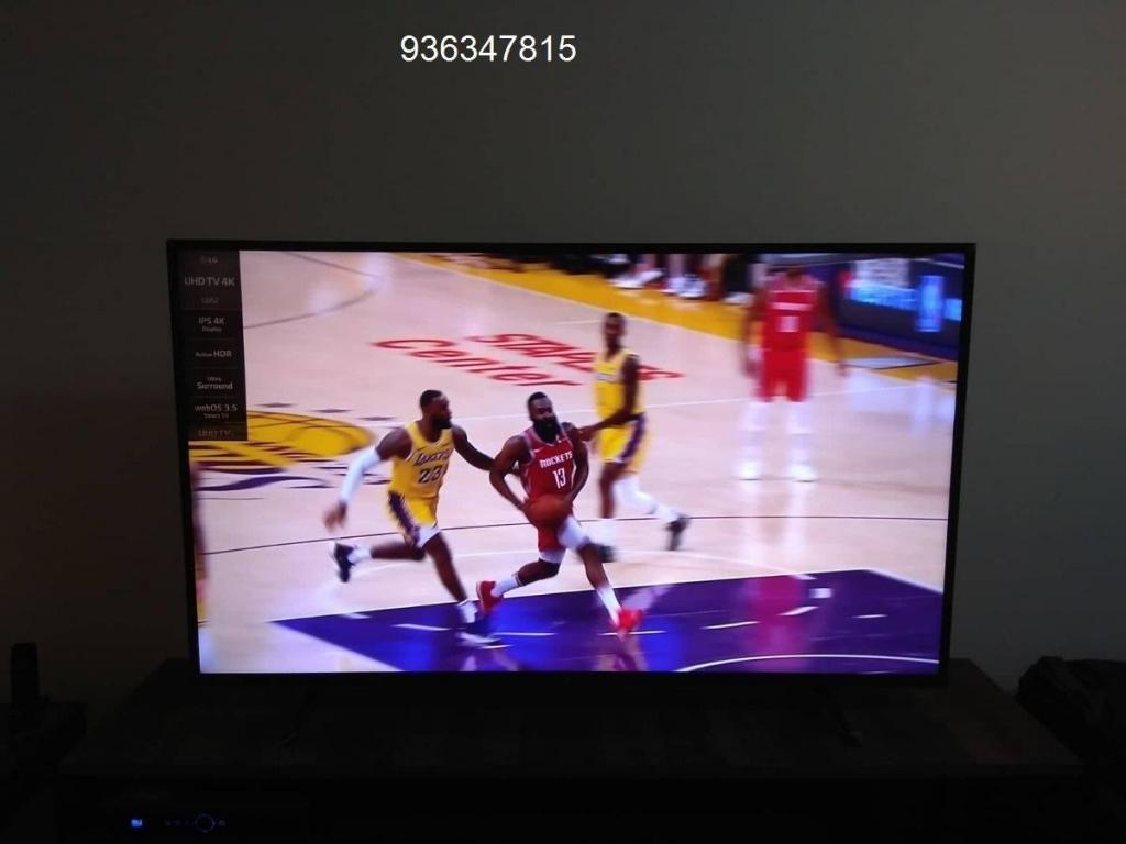tv de 65 pulgadas uhd en caja 4k. semi nueva. 65 pulgadas