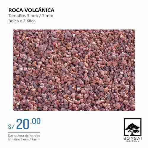 Bonsai Roca Volcánica 3 Mm - 7 Mm
