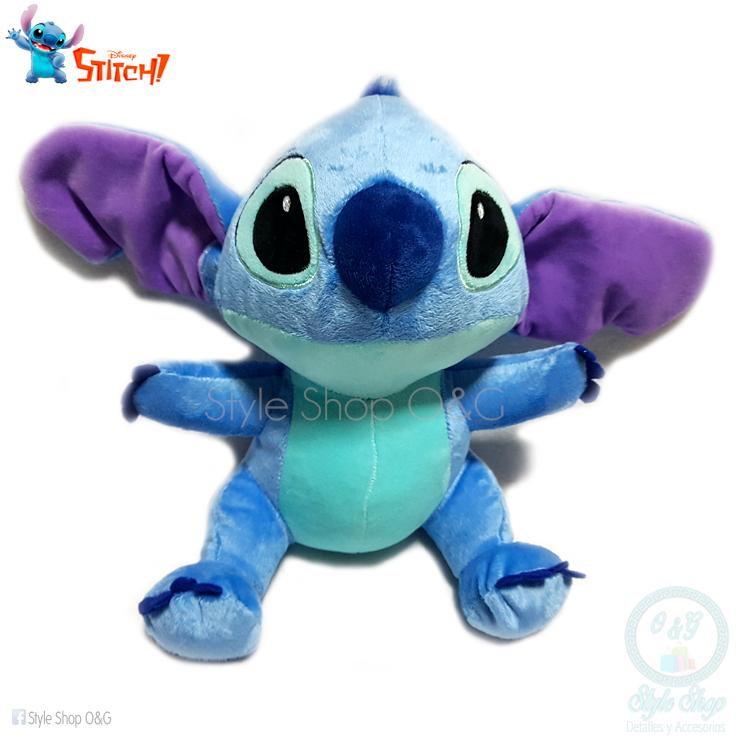 Peluche Stitch 22 Cm. Incluye Bolsa De Regalo