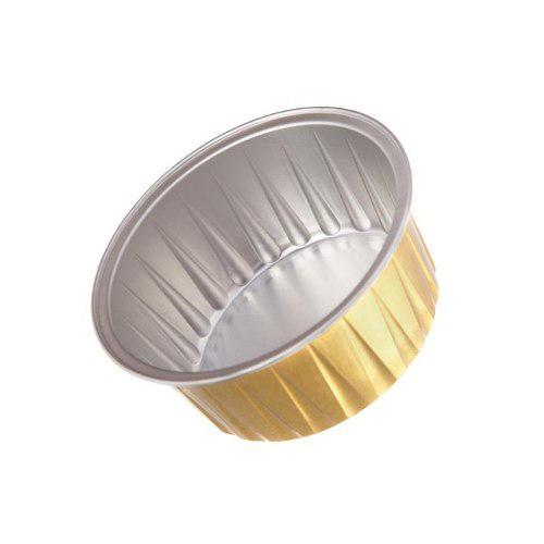 Pirotines De Aluminio 130 Ml. X 50 Und. 2do Set Con 50% Dsct