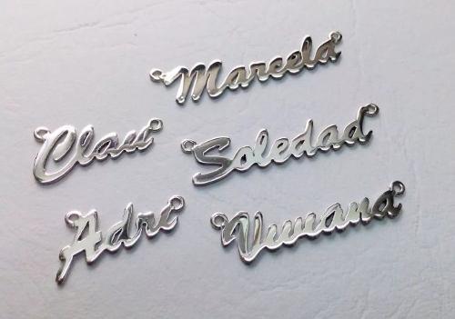 Nombres Personalizados En Plata 950