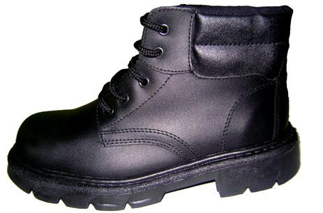 zapato de seguridad mineros