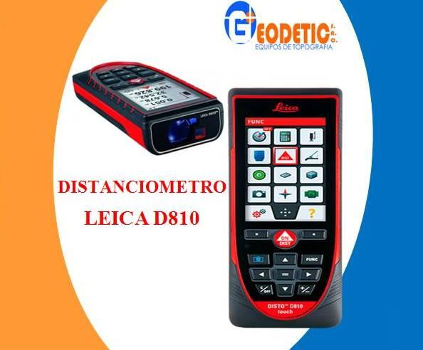 Distanciometro Leica Disto D5 Wincha Laser Hasta Posot Class