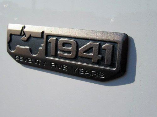 Emblema Cromado 1941 Willys Para Jeep