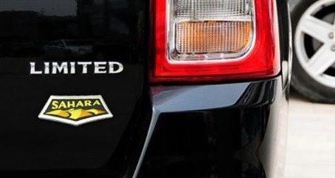 Emblema Cromado Sahara Para Camionetas Jeep Wrangler
