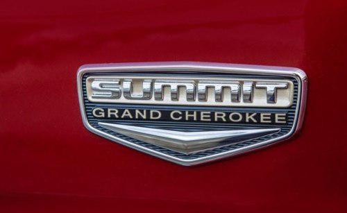 Emblema Cromado Summit Para Jeep Grand Cherokee