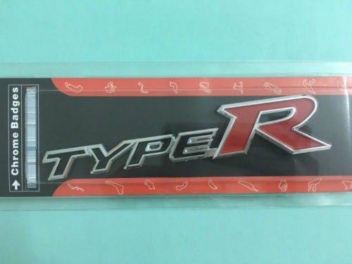 Emblema Cromado Type R Para Camionetas