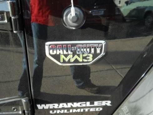 Vendo Emblema Call Of Duty Para Camionetas Jeep