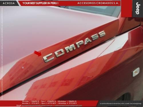 Vendo Emblema Cromado Compass Para Camionetas Jeep
