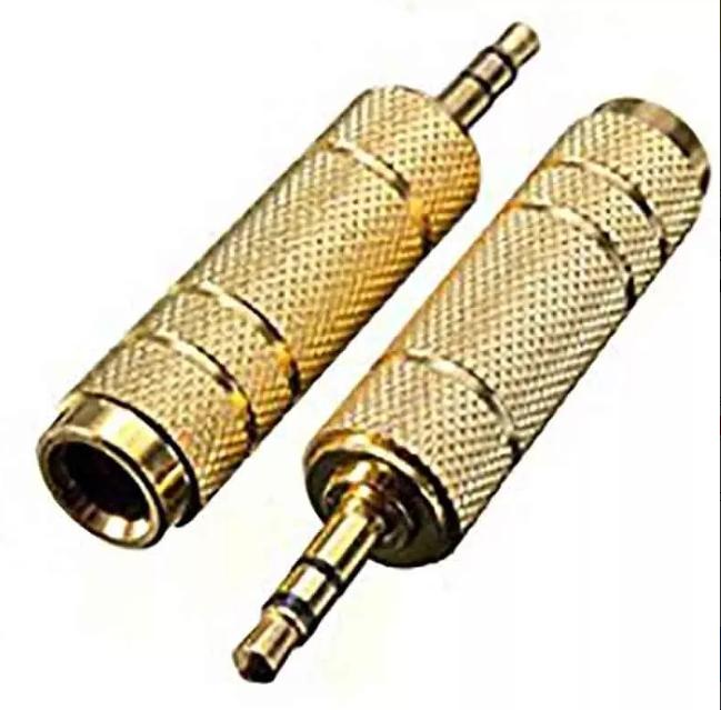 Adaptadores Plug Jack 6.3mm Hemdra A Jack 3.5 Macho Lince