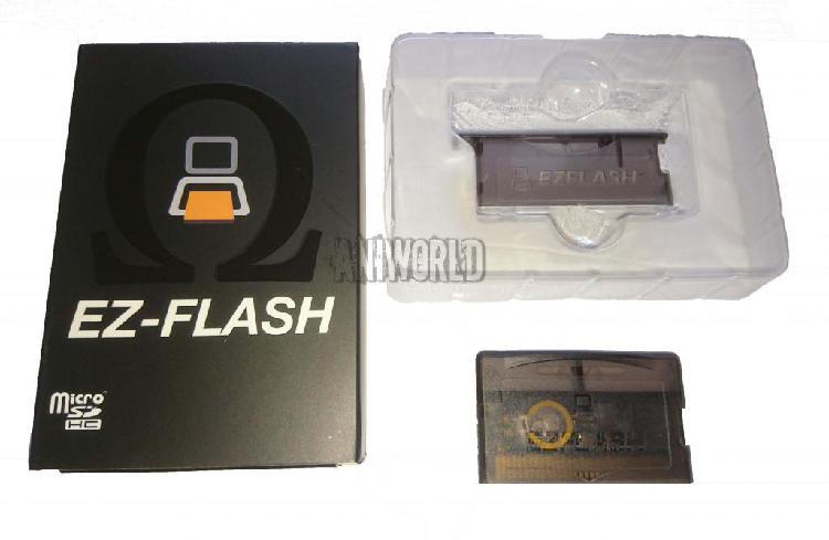 Cartucho Ez Flash Omega Game Boy Advance Nintendo Ds