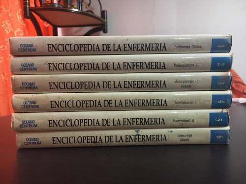 Colección Enciclopedia De La Enfermería Editorial Oceano