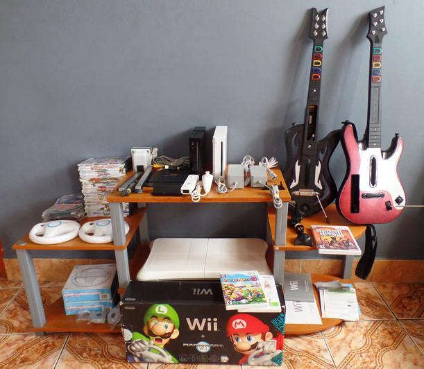 V/cambio 2 Wii Flasheados Y Todo Lo Que Se Ve En Las