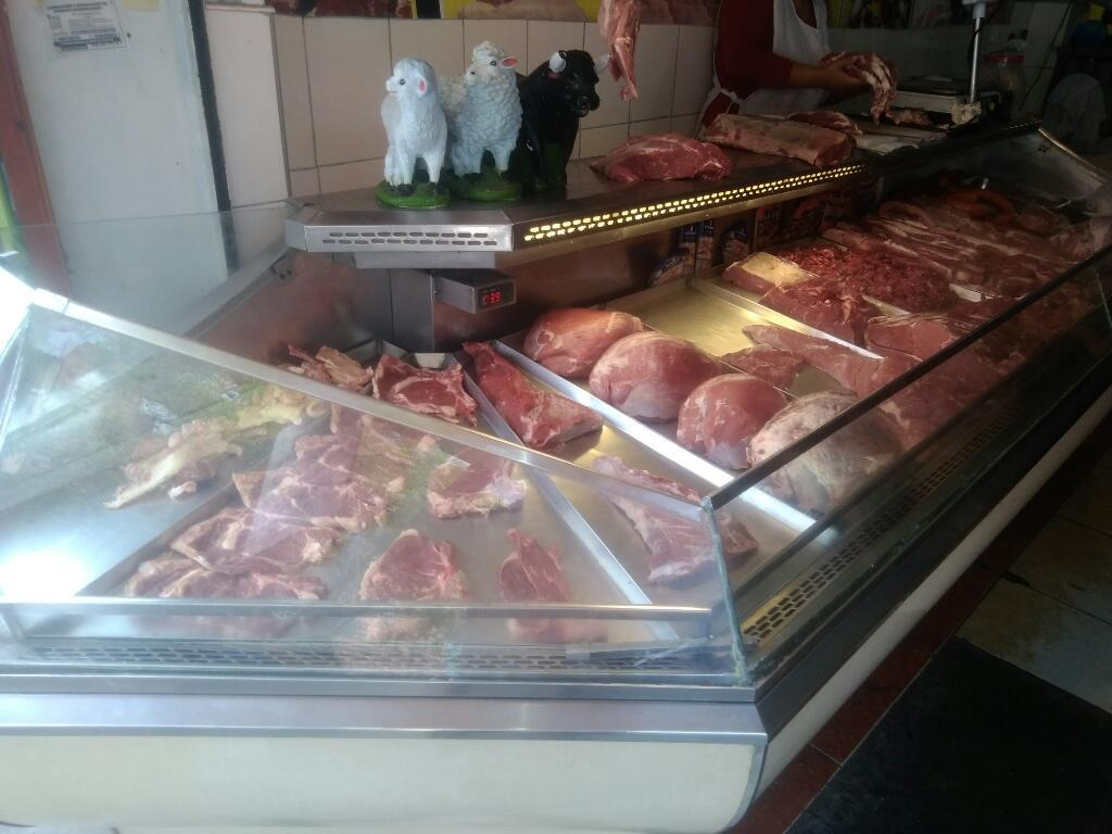 Vendo Exibidora de Carne Ac. Inoxidable