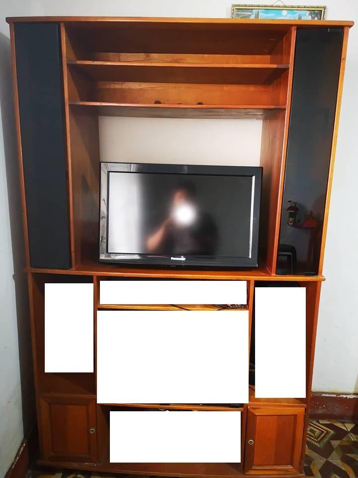 Venta Televisor Panasonic 24 y Mueble de Tv