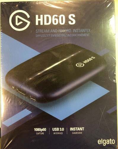 Capturadora De Video Elgato Hd60s Ps4 Xbox One Nintendo Swit