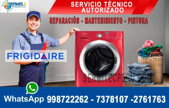 Reparacion de lavadoras frigidaire 7378107 surco en Lima