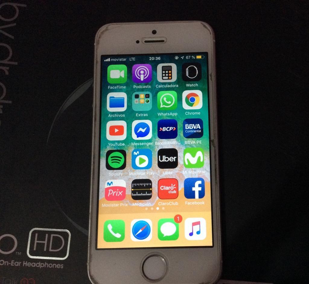 iPhone SE 64 Gb Libre de Icloud