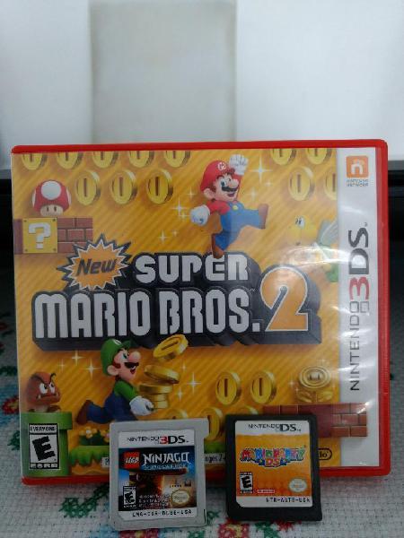 Juegos Nintendo 3ds Y Ds desde 30 Soles