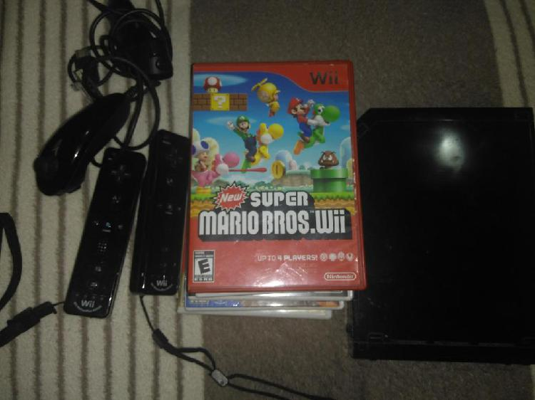 Nintendo Wii, 12 Juegos 8 de Wii Y 4 3ds