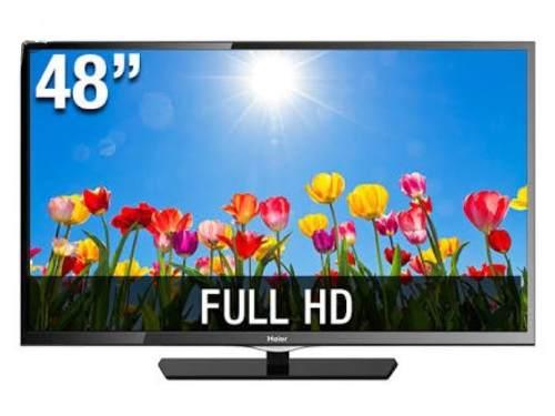 Televisor Haier 48' Pulgadas, Pantalla Led Hd