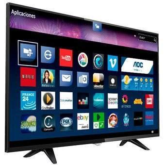 Televisor Smart De 43 Led Full Hd Aoc Le43s5970 - Negro