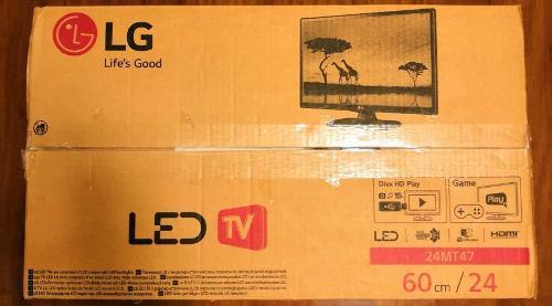 Televisor/monitor Lg Led 24 Pulgadas