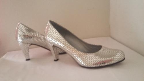 Zapatos De Cuero Natural Para Mujer