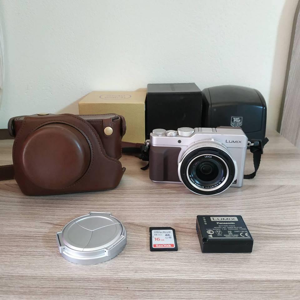 Camara Lumix Dmc Lxk Ultra Hd Lente Leica Ois mm