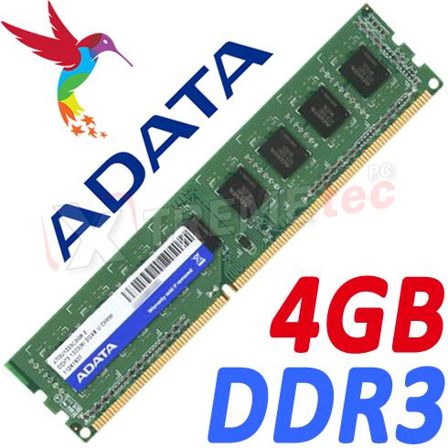 Memoria RAM Adata 4GB DDR PC CPU