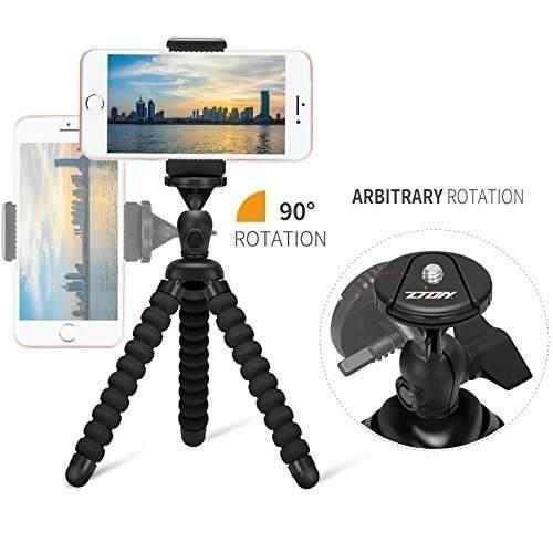 Mini Soporte Para Trípode Flexible Para Teléfono Celular,
