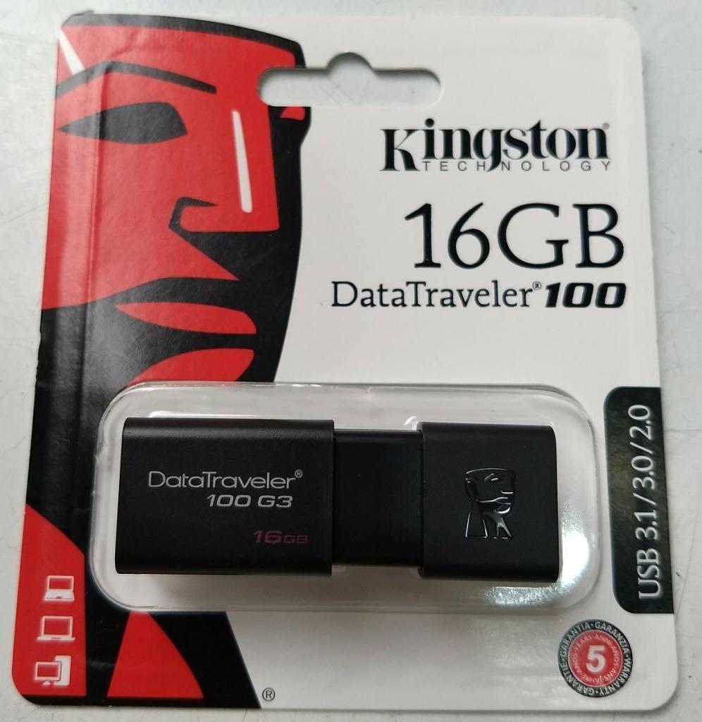 OFERTA MEMORIAS KINGSTON USB 16GB /POR MAYOR Y MENOR/