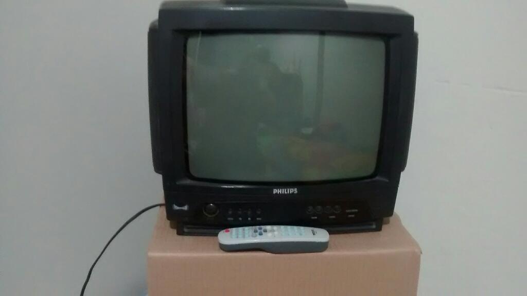 Vendo Televisor de 14 Marca Philips.