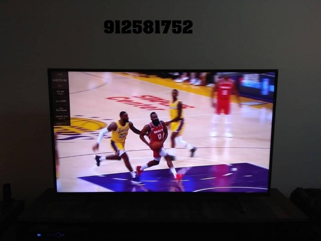 tv de 65 pulgadas uhd 4k en caja semi nueva en caja