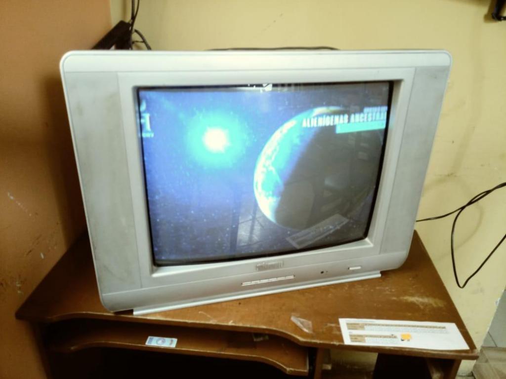 tv hitech 21 a color