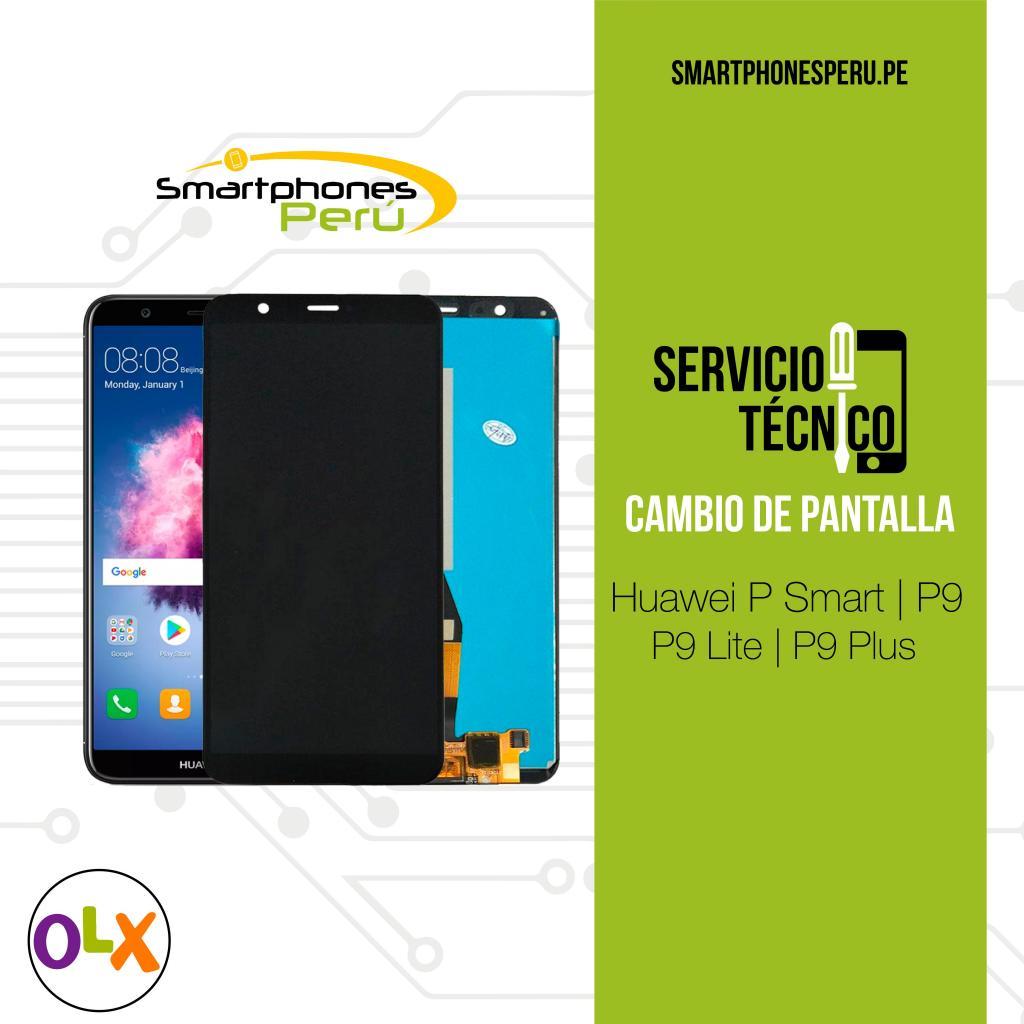 Cambio de Pantalla Huawei P8 Lite, P Smart, P9 Lite, P10