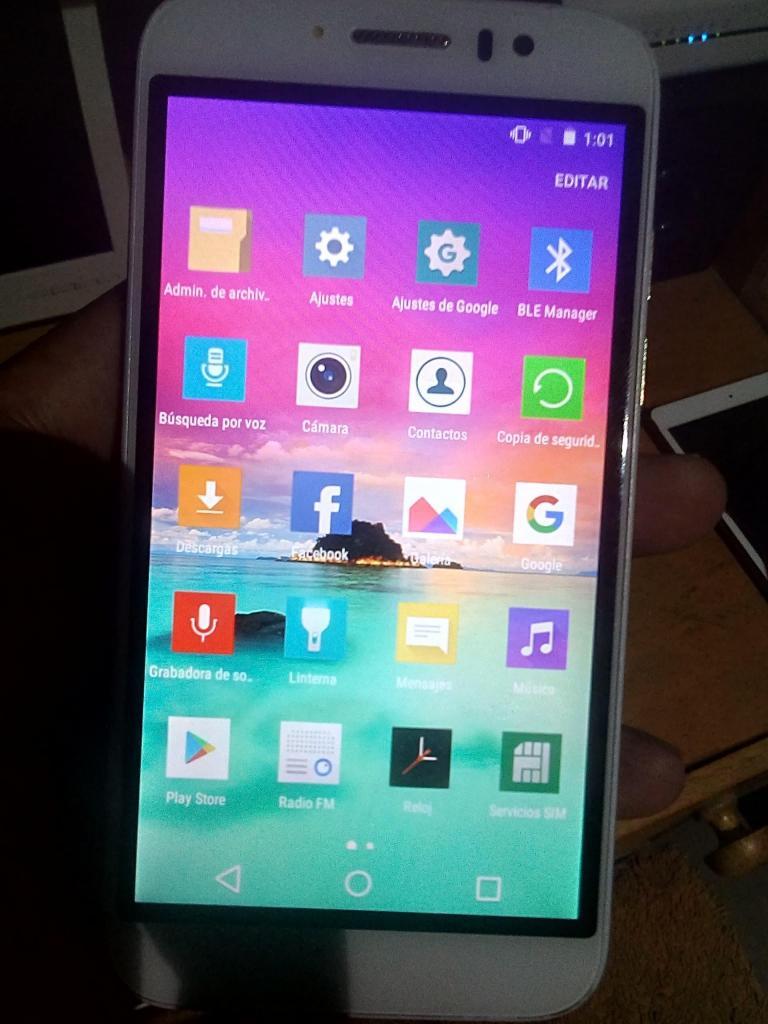 LG K10 BLANCO 32 GB, VER DETALLE