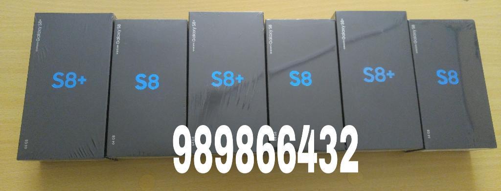 Samsung S8 Y S8 Plus 64gb Sellados