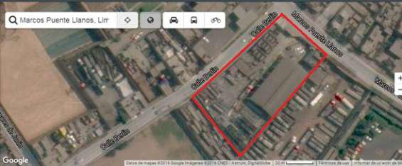Terreno industrial 1448 m2 con licencia de funcionamiento ?