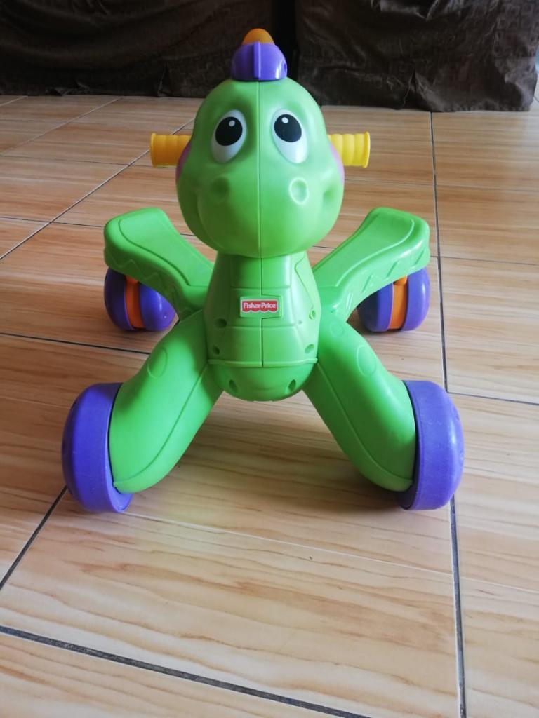 Caminador Andador Dinosaurio Musical