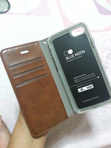 Carcasa Case Flip Cover Iphone 7 - Blue Moon