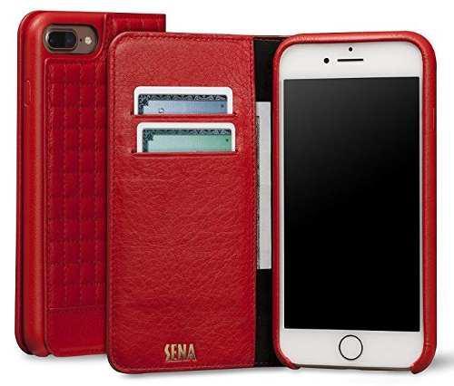 Carcasa De Cuero Para Iphone 7 Y Iphone 8 Marca Sena