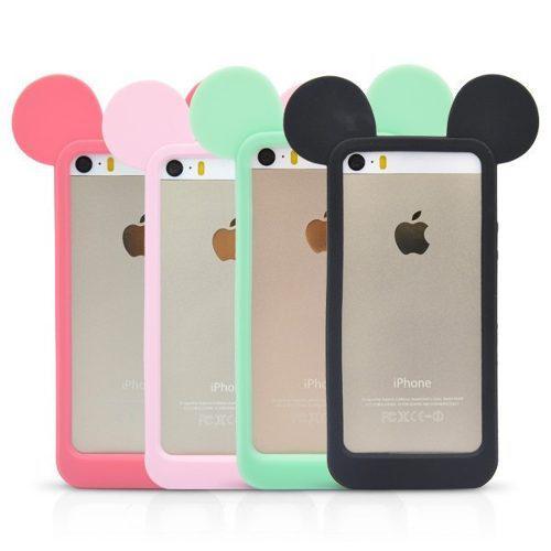 Case Carcasa Funda Protector Orejas Mickey Mouse Iphone 5/5s