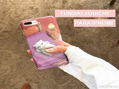 Case Carcasa Squishy Squeese Para Iphone