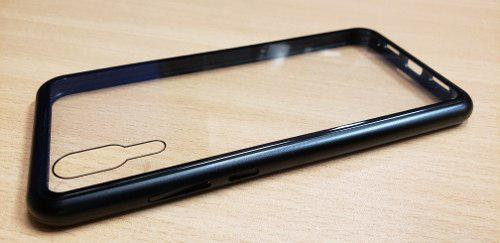 Case- Protector De Celular De Metal Imantado Para Huawei P20