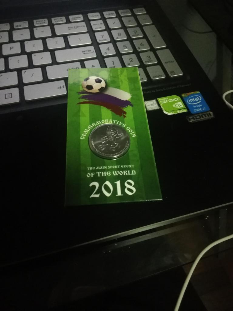 Copa Mundial de la FIFA Rusia  Merchandising Moneda