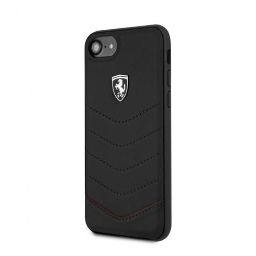 Iphone 7/8 6 6s Case Funda Ferrari De Cuero Genuino