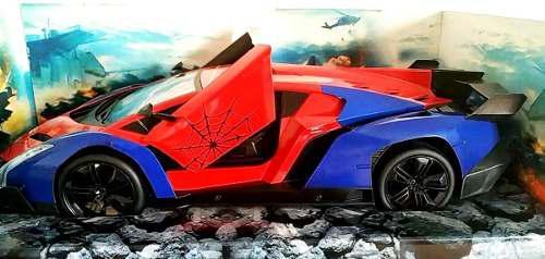 Auto A Control Remoto Spiderman