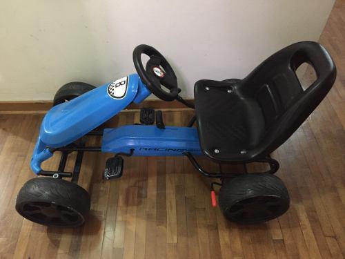 Auto De Carrera A Pedales Con Cambios Para Niño