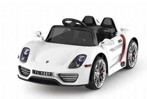 Auto Deportivo A Bateria Porsche 918 Spyder Con Usb Y Mp3